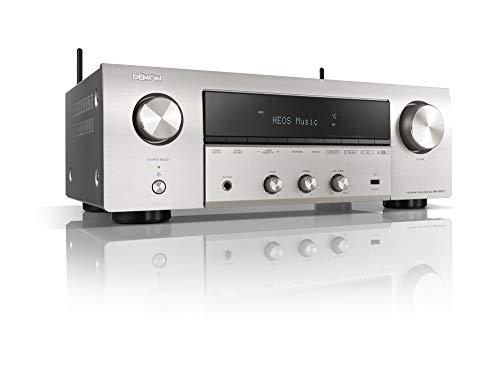 Denon DRA-800H Stereo-Netzwerk-Receiver (2x 145W, UKW/DAB+,WLAN, HDMI, Phono-Eingang), silber