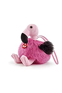 Trudi- Peluche Mini hangable, Color Fucsia (29094)