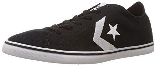 Converse International Unisex Black Canvas Sneakers – 8 UK 31H 2B 2BnsEZZL