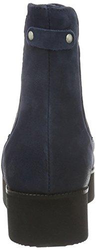 Bianco Flatform Chelsea Jja16, Bottes Classiques femme Bleu - Blau (30/Navy Blue)