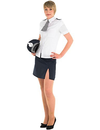 Policewoman - Adult Fancy Dress (Emergency Kostüme 999 Services)