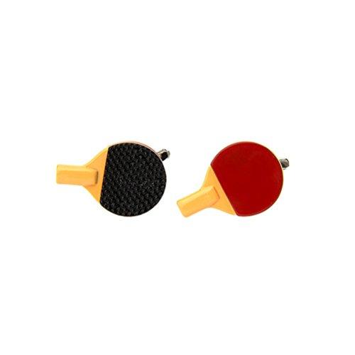Ping Pong Tischtennis Sport Manschettenknöpfe