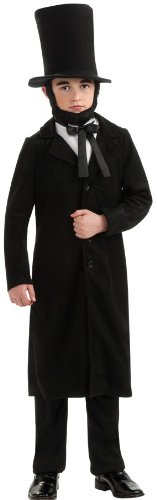 am Lincoln Costume - Large (Size 12 to 14, Ages 8 to 10) by Rubie's Costume Co (Abraham Lincoln-kostüm Für Kinder)