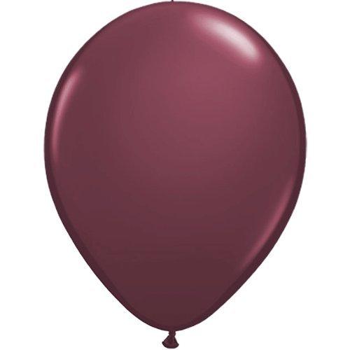 30 cm   Freie Farbauswahl   23 Ballon Farben   partydiscount24® (Pflaume) (Ballon-farben)