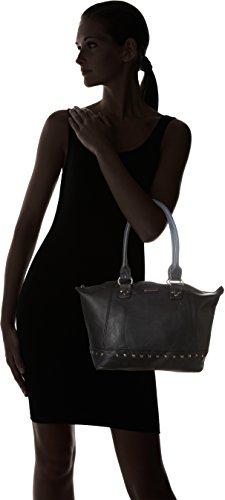 Little Marcel - Do02, Borse a spalla Donna Nero (Black)