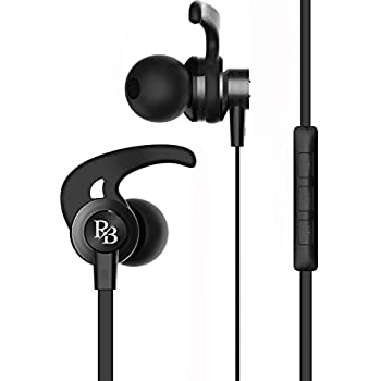 Rhythm&Blues A100 in-Ear Wired Earphones with mic (Black)