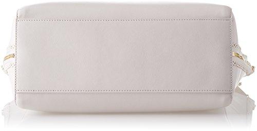 Trussardi Jeans Kuala Lumpur, Borsa a Spalla Donna, 31.5x32x14 cm Bianco (Off White)