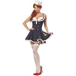 California Costume 01001 - Disfraz Marinero para mujer talle XL