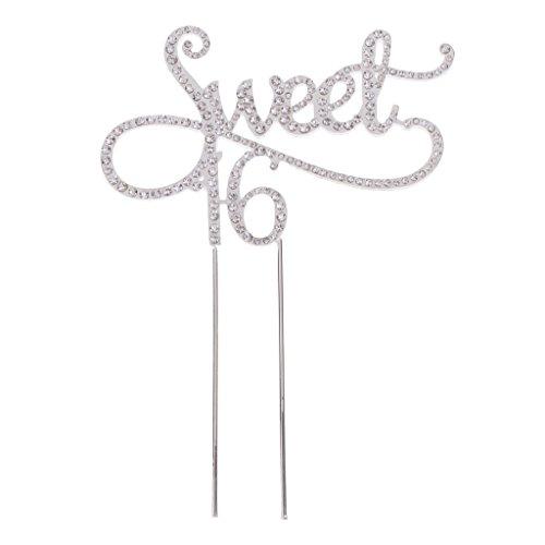 ur/ Cake Topper - Sweet 16 Form ()