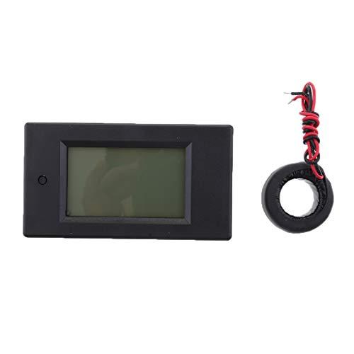 IPOTCH Digital-Multimeter AC 80-260V 100A Spannung Stromstärke Energiezähler Ampere Test Gauge Monitor