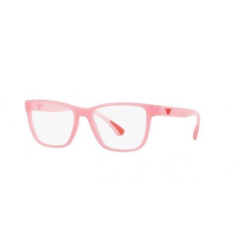 Armani Damen 0EA3090 Brillengestelle, Pink/Transparent, 5