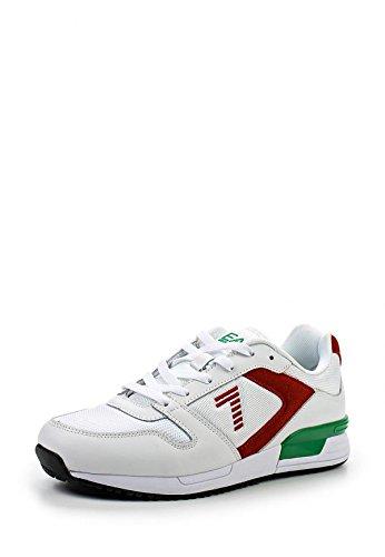 scarpe EA7 bco\rosso\verde articolo 288058 (40