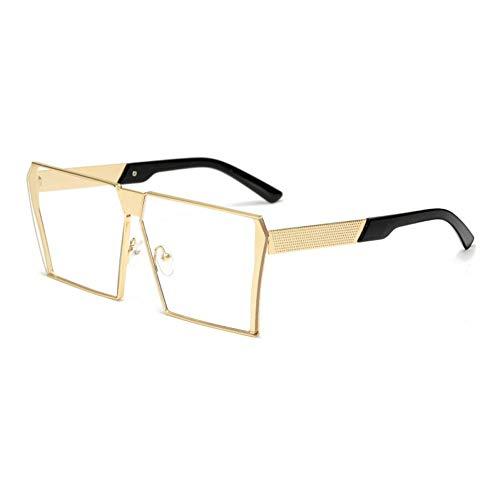 AAMOUSE Fashion Square Sonnenbrille Frauen Designer Männer Große Größe Metall Sonnenbrille Vintage Brille UV400 Brille Sonnenbrille