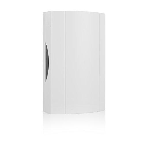 Drahtgebundene Türglocke Byron 776 – Weiß – Eingebauter Trafo