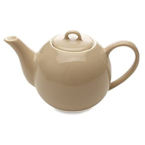 Maxwell Williams Cafe Culture Teapot 400ml Crema by Maxwell Williams