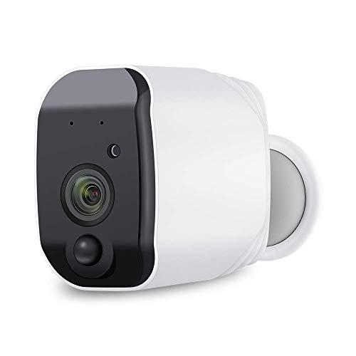 CTVISON Wireless batteriebetriebene Überwachungskamera Home Surveillance IP Kamera wiederaufladbare hohe Kapazität 6800mAh mit Night Vision & PIR Alarm für Elder/Baby/Pet Dog (Sicherheit Zu Hause-surveillance-system)