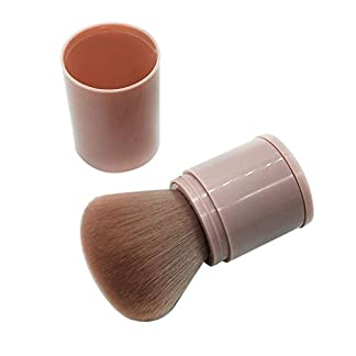 Posional Pinceles De TelescóPica PortáTil, Kit De Pinceles De Maquillaje Para Mujeres Incluye Pinceles De Maquillaje Diarios Para La Cara Y Adecuados Para Viajar