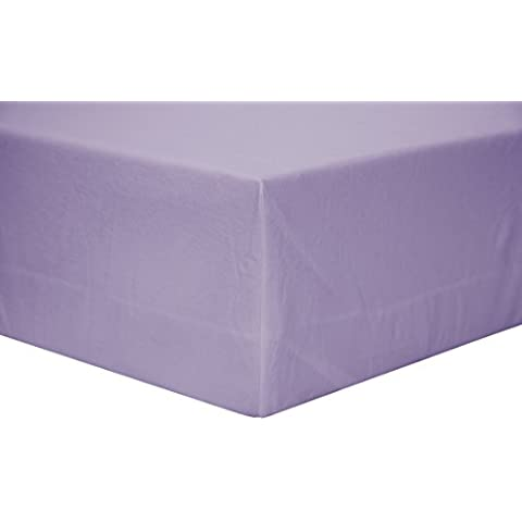 bsensible 101nt0109019035–Bettlaken Abdeckung, Tencel, wasserdicht und atmungsaktiv, 90x 190cm, malve