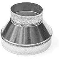 Acople Vents Reductor/Reducción para Extractor de aire/Tubo (200mm/150mm)