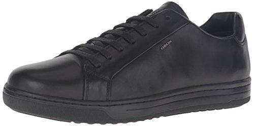 Geox Ricky F, Zapatillas Bajas Atléticas Para Hombre Negro (negro)