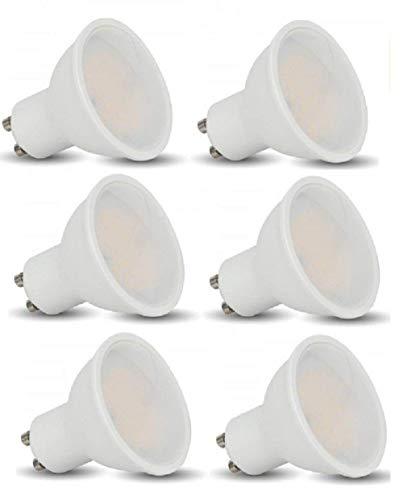 V-TAC - 3 W GU10 LED bombillas - paquete de 6 -...