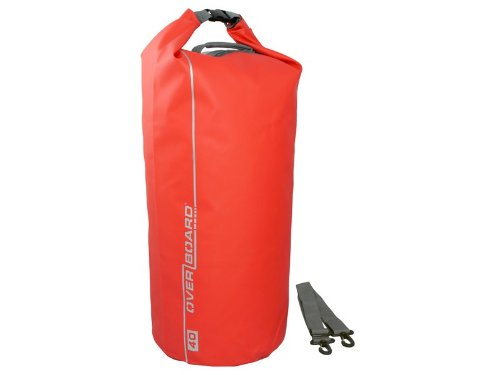 OverBoard - Bolsa de playa impermeable capacidad 40 l color rojo