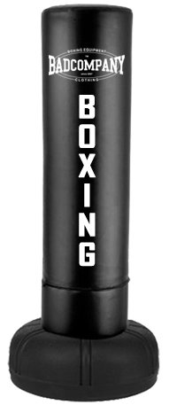 Heavy Duty Standboxsack 170x37cm - Freestanding Punching Bag black BCA-71