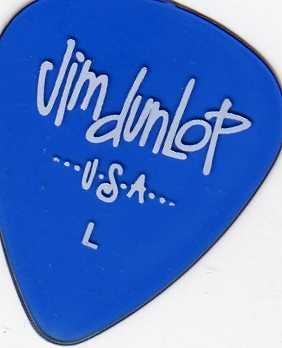 12 x Jim Dunlop Gels Light Gitarrenplektren, Blau