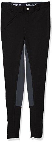 PFIFF 101197 Damen Reithose Vollbesatzreithose, schwarz-grau, 36