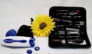 Wizzit - Pincette électrique pour Épilation des Cheveux