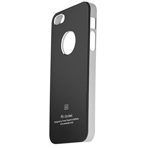 ALU- CASE Designer Schutzülle Case Cover iPhone 5 von HORNY PROTECTORS® Grau Schwarz