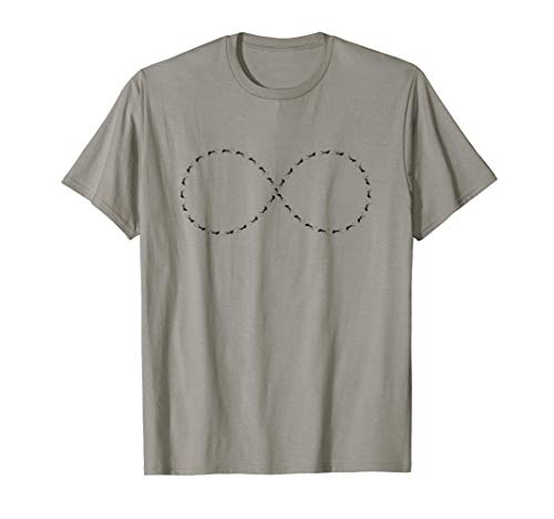 Ant Infinity Symbol Lemniscate Infinite Insect Math T-Shirt -