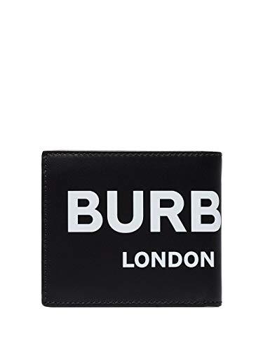 BURBERRY Herren 8008887 Schwarz Leder Brieftaschen