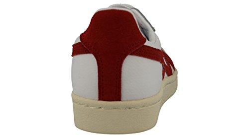 Onitsuka Tiger Gsm - Sneakers Basses - Mixte adulte Multicolore (White/Tandori Spice)