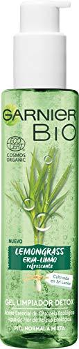 Garnier BIO Gel Limpiador Detox Lemongrass Agua Flor