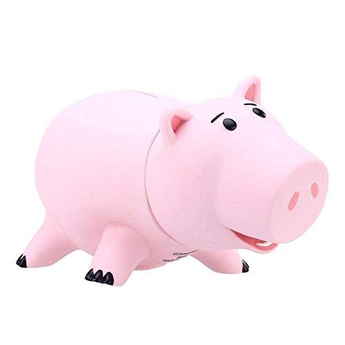 Bellagione Piggy Hucha Caja de Vinilo Rosa Piggy Banco para Niños Cumpleaños con Caja
