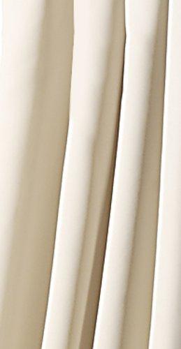Tenda con bordo arricciato e passanti nascosti oscurante, isolante da freddo e caldo, oscurante, hxb 245x 135cm qualità top typ139 crema