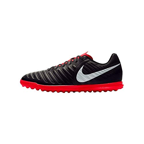 Nike Legend 7 Club Tf Scarpe da Fitness Uomo, Multicolore (Black/Pure Platinum/Lt Crimson 006) 45 EU