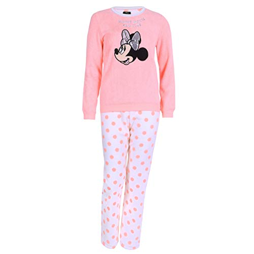 Pijama de neón de Lunares Mickey Minnie Disney - Large