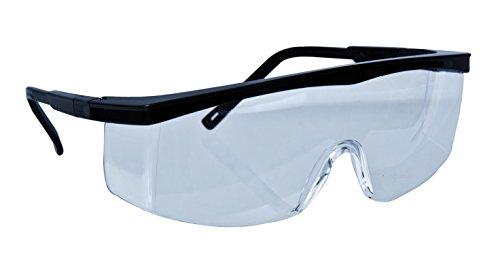 CXS Schutzbrille mit 180° Sichtfeld - Unisex Arbeitsschutzbrille mit Antikratz und Antibeschlag Technologie. Arbeitsbrille, Sicherheitsbrille, Schießbrille, Brille