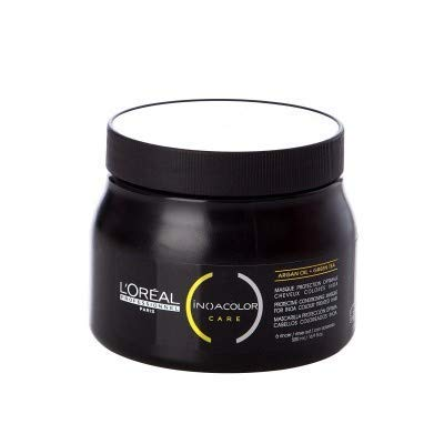 L'Oreal Paris Inoa Protective Conditioning Mask with Argan Oil and Green Tea (490 g)