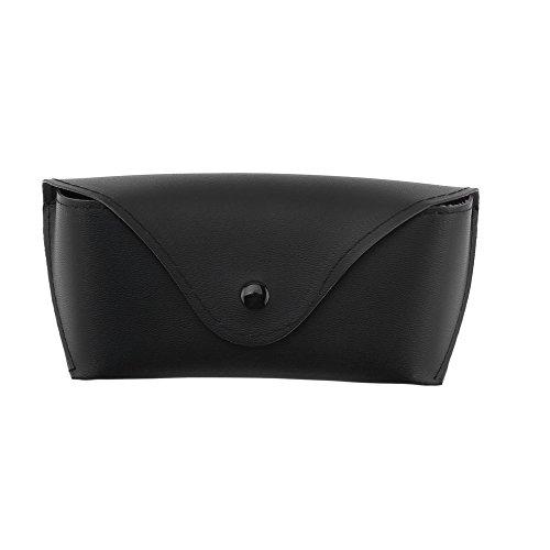 Professionelle Durable PU Leder Brillenetui Sonnenbrillen Weiche Brillen Lagerung Inhaber Box Bag Cases Convenience Carry