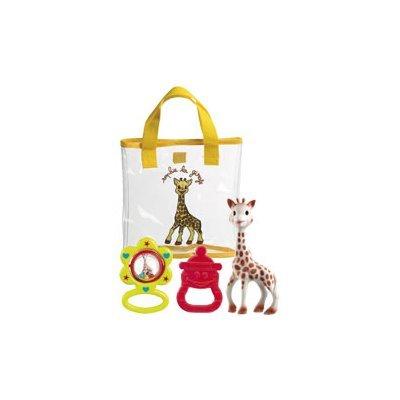 Vulli 516324 - Bolsita de regalos para recién nacido, diseño Sophie la jirafa por Vulli