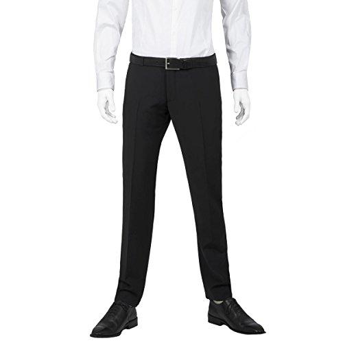 Michaelax-Fashion-Trade -  Pantaloni da abito  - Basic - Uomo Schwarz (4000)