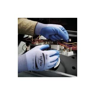 ANSELL 11-518 Ultralight HyFlex Cut Resistant Gloves Size 8 [PRICE is per PAIR] by ANSELL-EDMONT