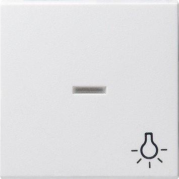 Gira 067403 Wippe Kontroll Symbol Licht System 55, reinweiß - Wippe Licht