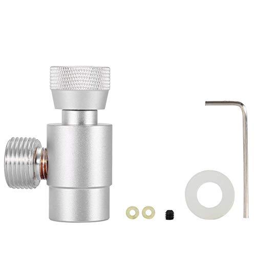 CO2 Fülltank Zylinder Nachfülladapter Gas Regulatoren Sodastream Zylinder Flaschenanschluss CO2 Tankzubehör (#4)