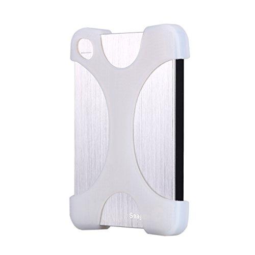 LANMU Caso della copertura del silicone per Seagate Backup Plus, Disco rigido disco Protector per Seagate Expansion, Caso 2.5
