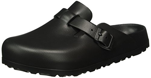 BIRKENSTOCK Classic Unisex-Erwachsene Boston Eva Clogs, Schwarz (Black), 36 EU (3.5 UK) (Clogs Antik Boston)