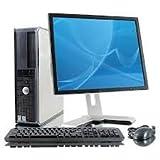 postazione informático completa PC Computer usado + Monitor ricondizionato–Dual Core 2GB RAM 160GB HDD